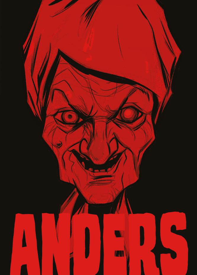 Das Cover von Anders