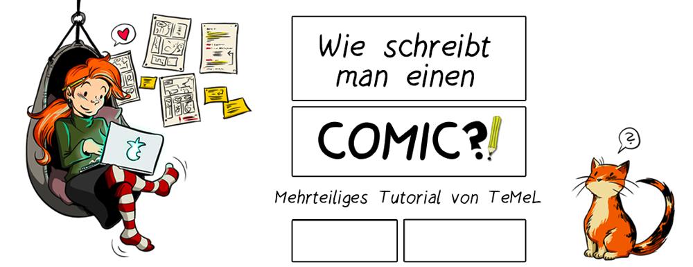 Wie schreibt man einen Comic?